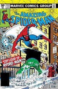 ハイドロマン誕生の経緯が描かれている『Amazing Spider-Man #212』(Marvel)