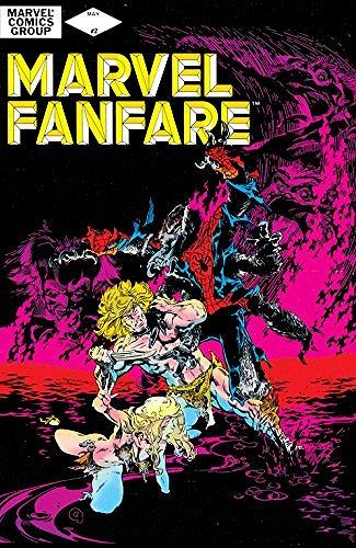 中央に立つのが、マンスパイダー『Marvel FANFARE#2』(Marvel)