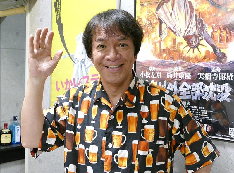 インタビューに応える、河崎実監督(2019年6月、マグミクス編集部撮影)