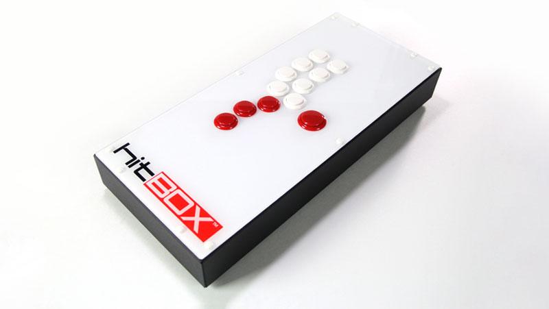 格闘ゲーム専用コントローラー、「Hit BOX」 (画像:Hit Box Arcade)