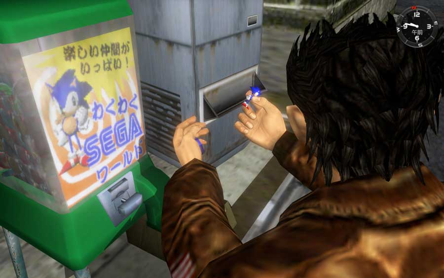 仮想世界を思うがままに歩き回れるシステムは当時画期的だった。PS4用『シェンムー I&II』より (C)SEGA