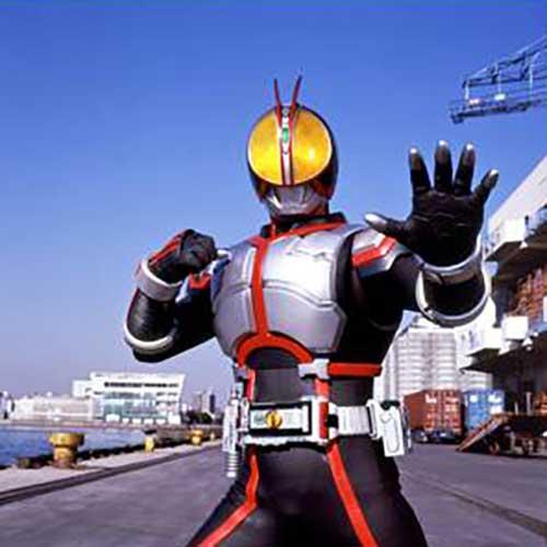 『仮面ライダー555』の主役はジュノンボーイ出身の半田健人さん (C)石森プロ・東映