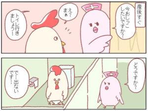 産後排尿困難になった話(鳥谷丁子さん提供)
