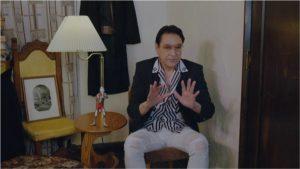 ケムール人のスーツアクターをつとめた、俳優の古谷敏氏。ULTRAMAN ARCHIVES『ウルトラQ』Episode 19「2020年の挑戦」Blu-rayに収録(画像:円谷プロダクション)