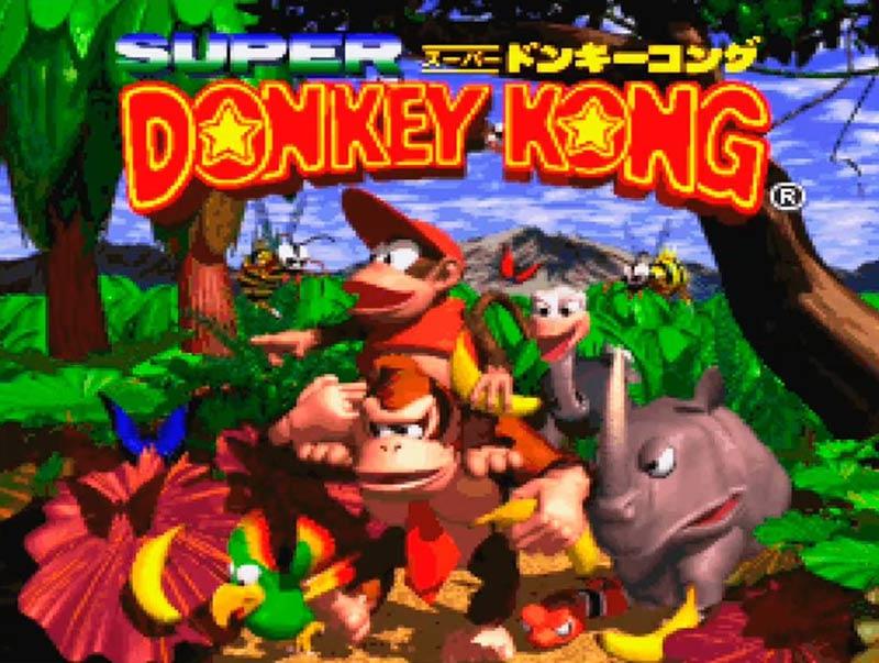 初代『スーパードンキーコング』。画像はWiiバーチャルコンソール版 (C)Nintendo