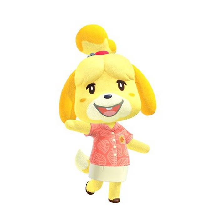 「どうぶつの森」シリーズの看板キャラクターで、人気の高い「しずえ」は、シーズー犬から? (C)Nintendo