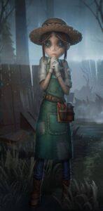 サバイバーのひとり、庭師のエマ。『IdentityV 第五人格』のなかでも、ルックス、能力の両面で人気の高いキャラクターとなっている (C)Netease Games
