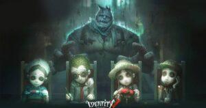 『Identity Ⅴ第五人格』のキービジュアルで、サバイバーの背後に描かれるレオ・ベイカー。彼らは過去に関わりが……?(画像:NetEase Games)