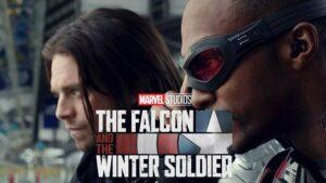 『ファルコン&ウィンター・ソルジャー』で活躍するバッキーとサム (C)2020 MARVEL
