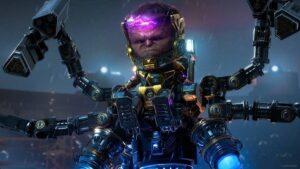 ゲーム『Marvel's Avengers』で登場するメインヴィラン「M.O.D.O.K(モードック)」 (C)2020 MARVEL