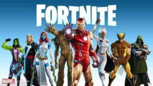 「『フォートナイト』とマーベルがコラボした新シーズン『ネクサス・ウォー』ビジュアル」(C) 2020, Epic Games, Inc.