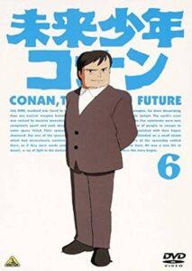 『未来少年コナン』DVD第6巻 (バンダイビジュアル)。ジャケットにはレプカが描かれる