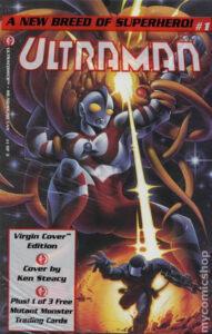 「ウルトラコミックス」から1993年に出版された『Ultraman』第1巻  (C)1993 Tsuburaya Productions Co., Inc.
