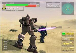 PS2用ソフト『機動戦士ガンダム 連邦VS.ジオン DX』(バンダイ)