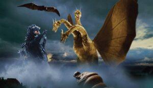 『三大怪獣 地球最大の決戦』(1964年)。11月3日(火・祝)17:00~ BS10スターチャンネルで放送予定 (C)東宝