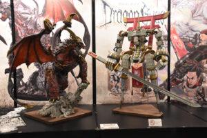 会場で多くの参加者の注目を集めていた『Dragon Gyas』(「ゲームマーケット2020 秋」会場にて筆者撮影)