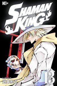 本編でグレートスピリッツの基本概念が語られた『SHAMAN KING KC完結版』第13巻(講談社)