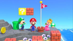 「スーパーマリオ」シリーズの家具が『あつ森』に実装! (C)Nintendo