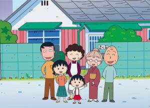 アニメ『ちびまる子ちゃん』キービジュアル (C)さくらプロダクション/日本アニメーション