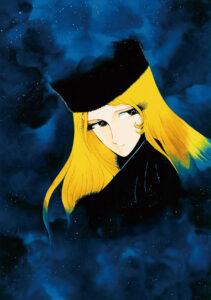 松本零士氏による「メーテル」の版画。2020年3月にそごう横浜店で開催された「~愛とロマンをのせて~ 松本零士作品販売会」で展示販売された (C) 松本零士