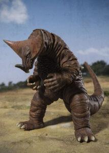『ウルトラマン』に登場した古代怪獣ゴモラを再現した、「S.H.フィギュアーツ ウルトラマン ゴモラ 約160mm  塗装済み可動フィギュア」(BANDAI SPIRITS)