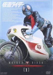 菊池俊輔さんは、特撮では「仮面ライダー」シリーズの作曲を手掛けたことで知られる。画像は『仮面ライダー』DVD VOL.1(東映)
