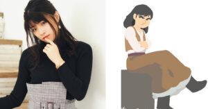 映画『カラミティ』吹替版で主役マーサ・ジェーン(右)役をつとめる、福山あさきさん(左)