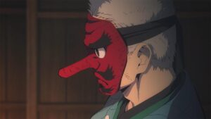 TVアニメ『鬼滅の刃』より、鱗滝左近次 (C)吾峠呼世晴/集英社・アニプレックス・ufotable