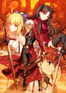『Fate/stay night[Unlimited Blade Works]』 画像はBlu-ray Disc Box Standard Edition(アニプレックス) (C)Nitroplus/TYPE-MOON・ufotable・FZPC