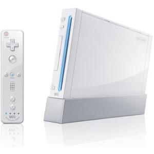 2006年に発売された、「ニンテンドーWii」本体(任天堂) ※現在は生産・販売終了