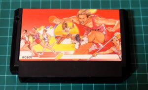 筆者が入手した、ファミコン用『ハイパーオリンピック』のカセット