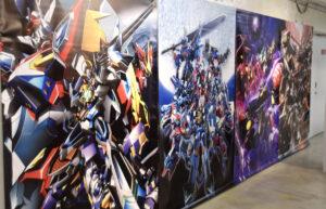 「スーパーロボット大戦OG展」の展示の一部(以下すべて筆者撮影)