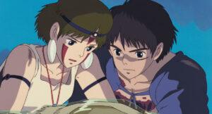 『もののけ姫』(1997)より (C)1997 Studio Ghibli・ND